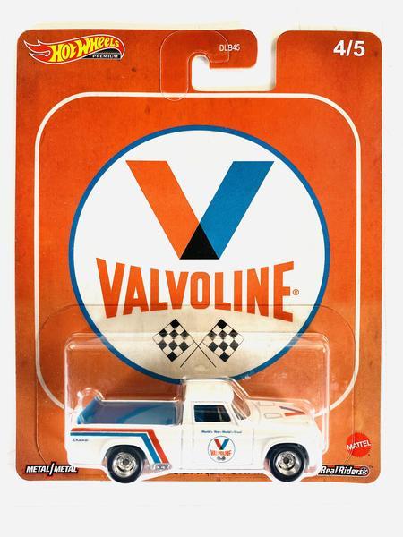 Hot Wheels - 63 Studebaker Champ Branco - Valvoline - Fuel