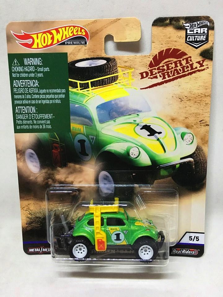 Hot Wheels - Volkswagen Baja Bug Verde - Desert Rally - Car Culture