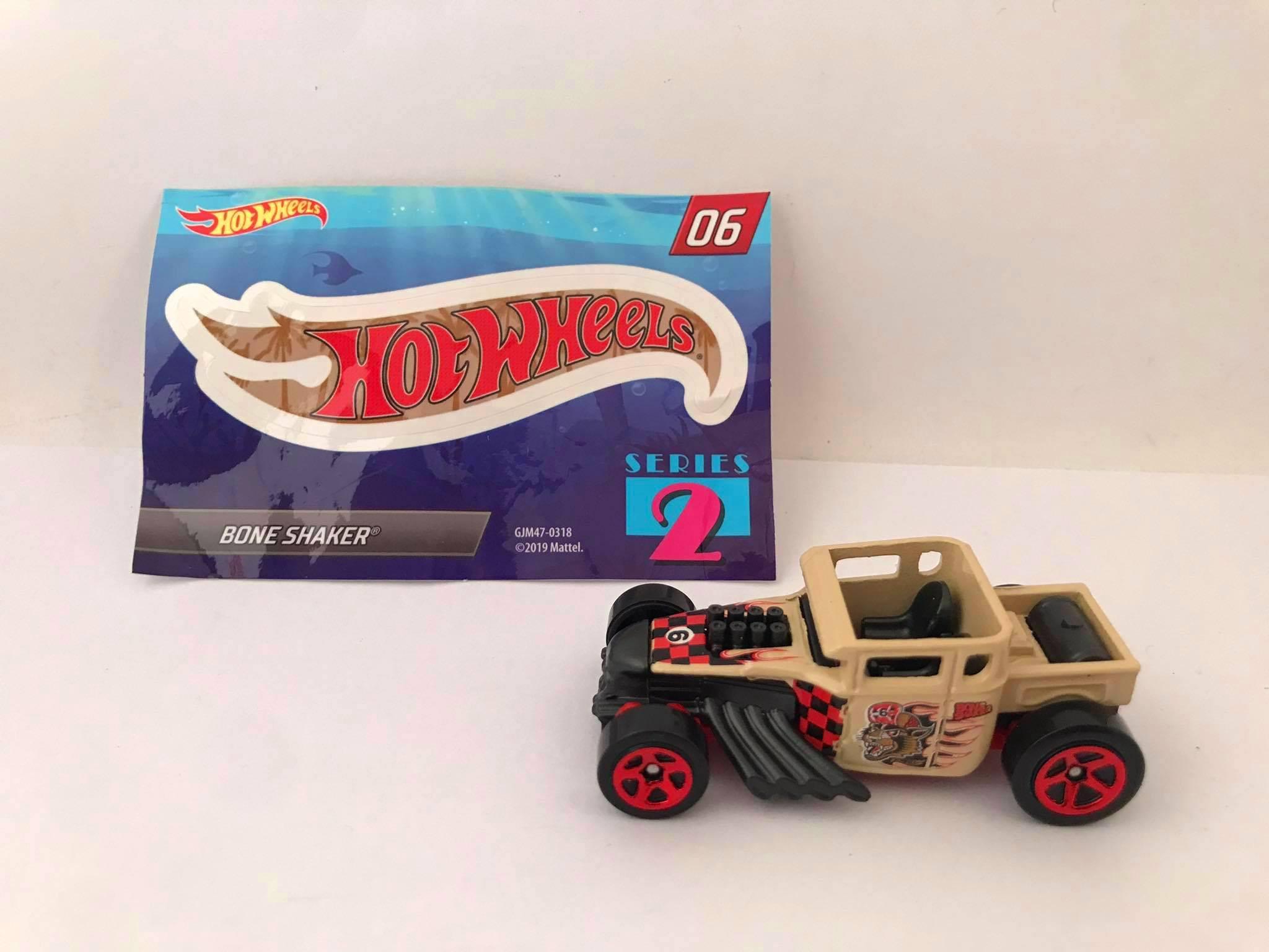 Hot Wheels - Bone Shaker - Mystery Models - Walmart Exclusivo 2020