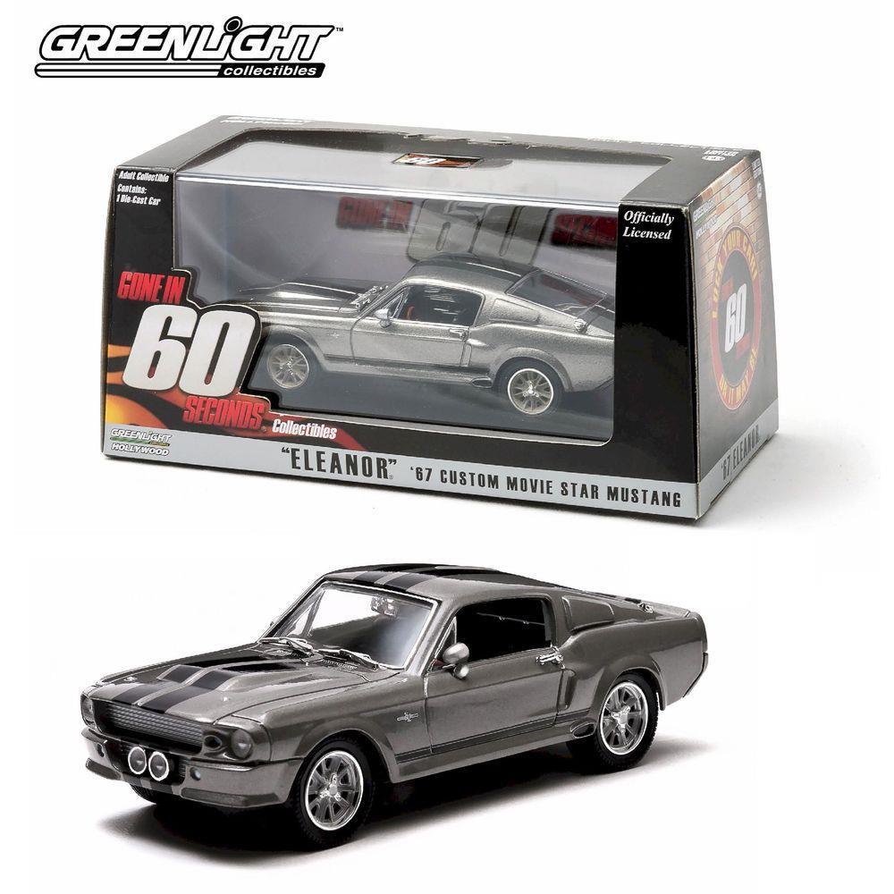 Greenlight Hollywood - 67 Custom Movie Star Mustang - Gone in 60 Seconds - Escala 1:43