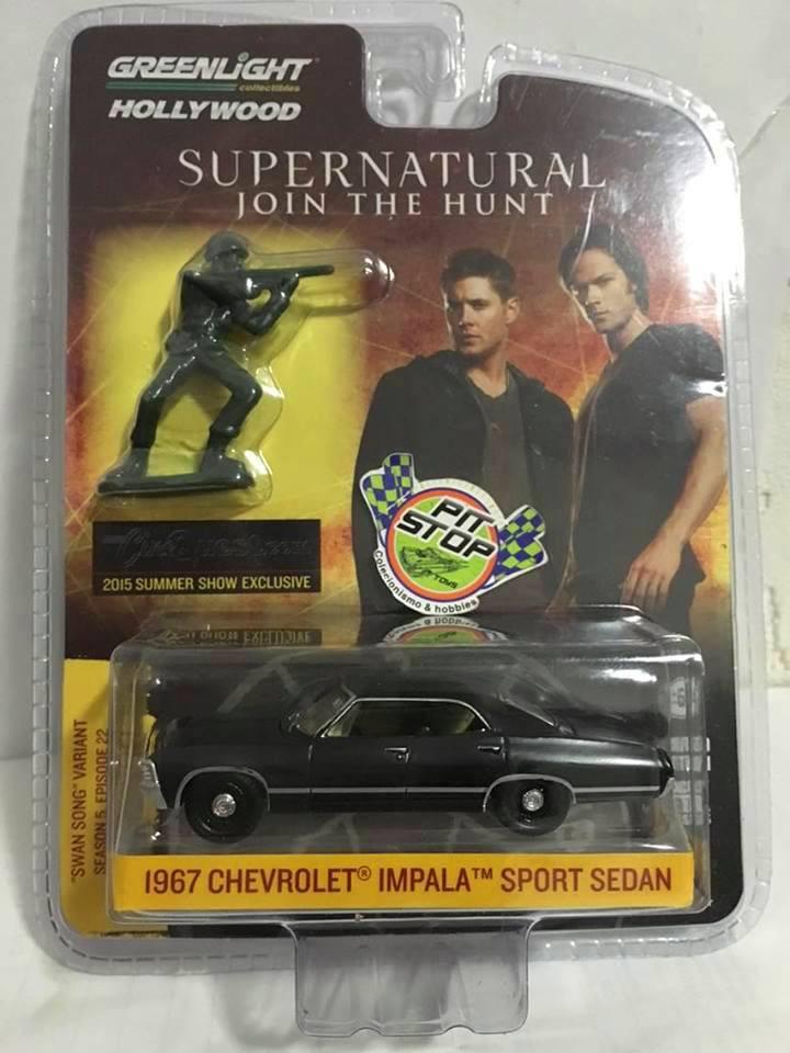 Greenlight - 1967 Chevrolet Impala Sport Sedan - Supernatural - 2015 Summer Show Exclusive - 1 of 2500