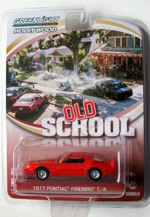 Greenlight Hollywood - 1977 Pontiac Firebird T/A - Old School