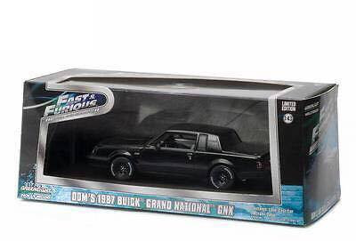 Greenlight Hollywood - Dom's 1987 Buick Grand National GNX - Fast and Furious - Escala 1:43