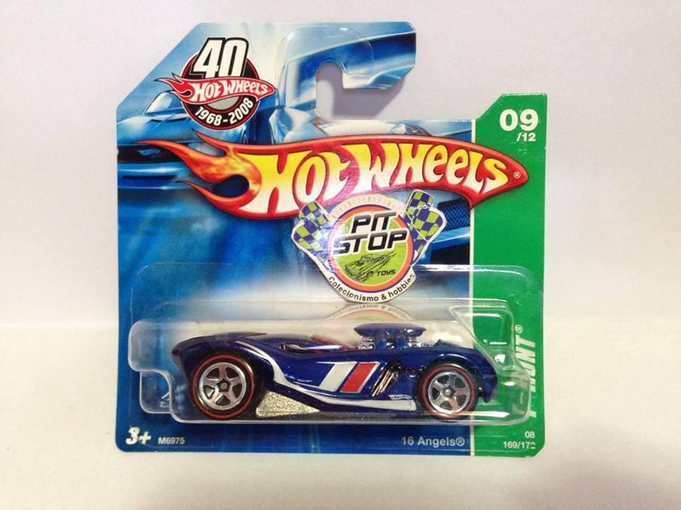 Hot Wheels - 16 Angels Azul - Treasure Hunt 2008