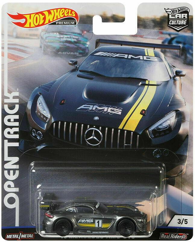 Hot Wheels - 16 Mercedes-AMG GT3 - Open Track