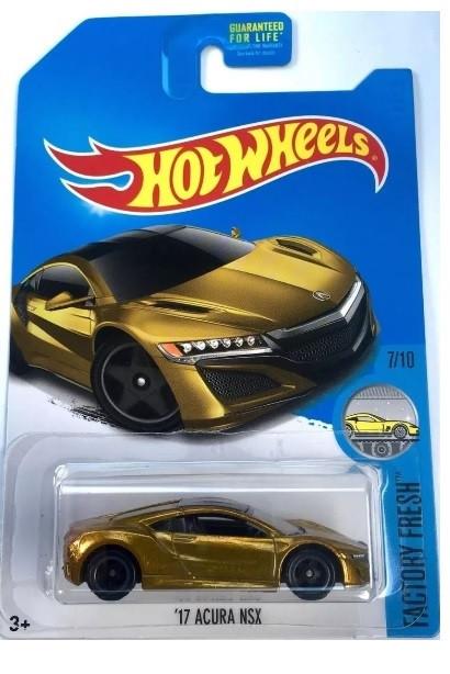 Hot Wheels - 17 Acura NSX - Treasure Hunt Super 2016