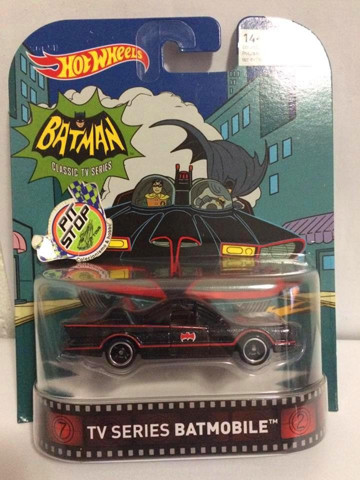 Hot Wheels - 1966 Batmobile TV Series Batmobile - Retro 2016