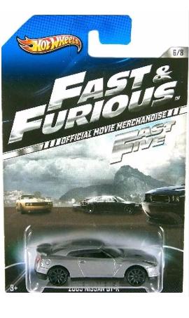 Hot Wheels - 2009 Nissan GT-R - Fast & Furious