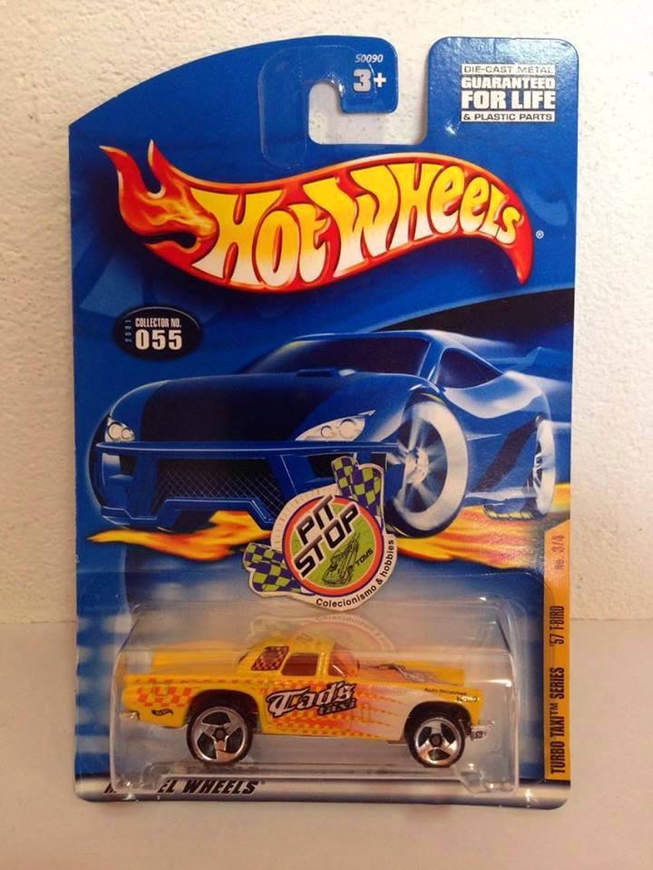 Hot Wheels - 57 T-Bird Amarelo - Mainline 2001