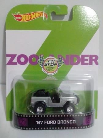 Hot Wheels - 67 Ford Bronco - Zoolander - Retro