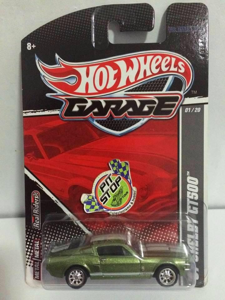 Hot Wheels - 67 Shelby GT500 Verde - Garage