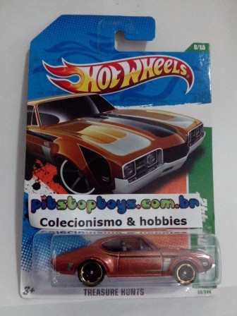 Hot Wheels - 68 olds 442 - Thunt Normal 2011