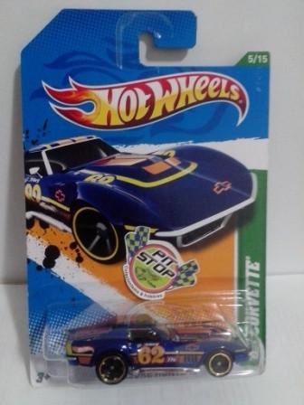 Hot Wheels - 69 Corvette - Thunt Normal 2012