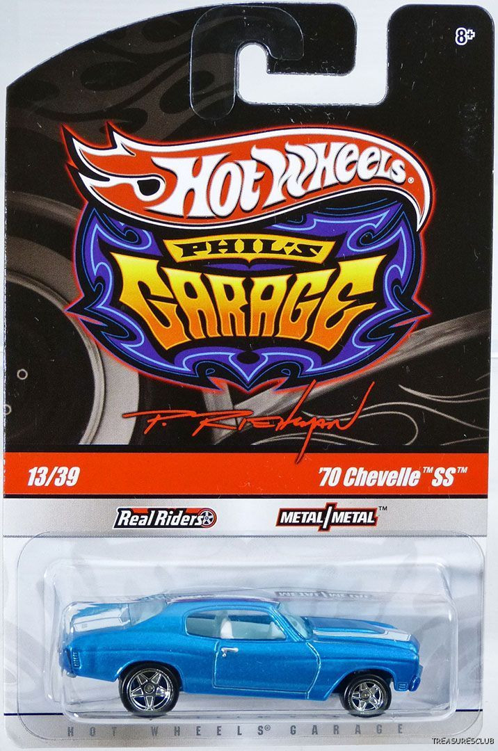 Hot Wheels - 70 Chevelle SS Azul - Garage