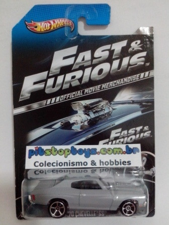 Hot Wheels - 70 Chevelle SS Cinza - Fast & Furious