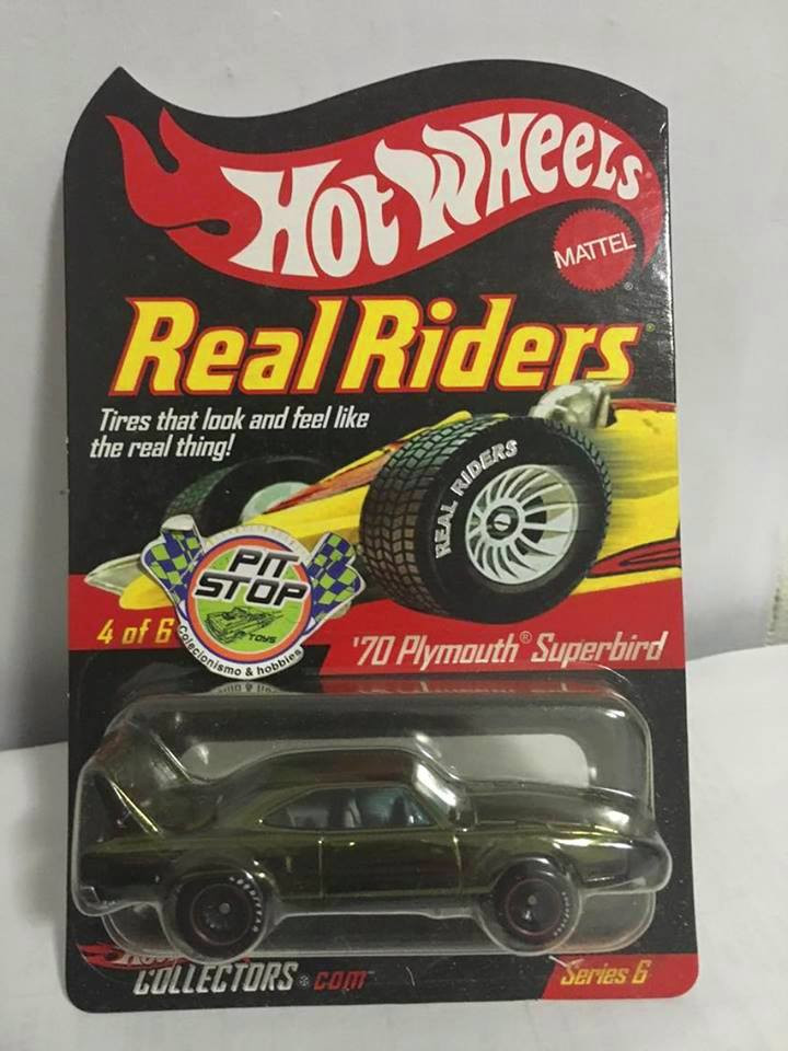 Hot Wheels - 70 Plymouth Superbird - Real Riders