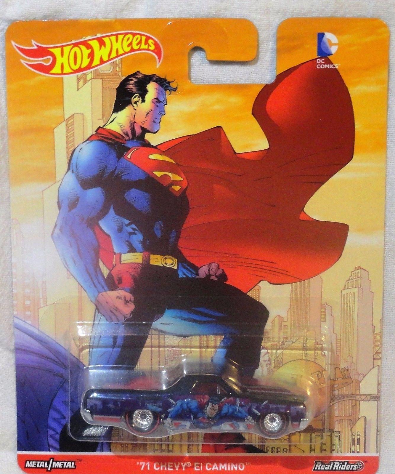 Hot Wheels - 71 Chevy El Camino - Superman - DC Comics