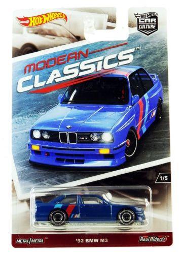 Hot Wheels - 92 BMW M3 - Modern Classics - Car Culture