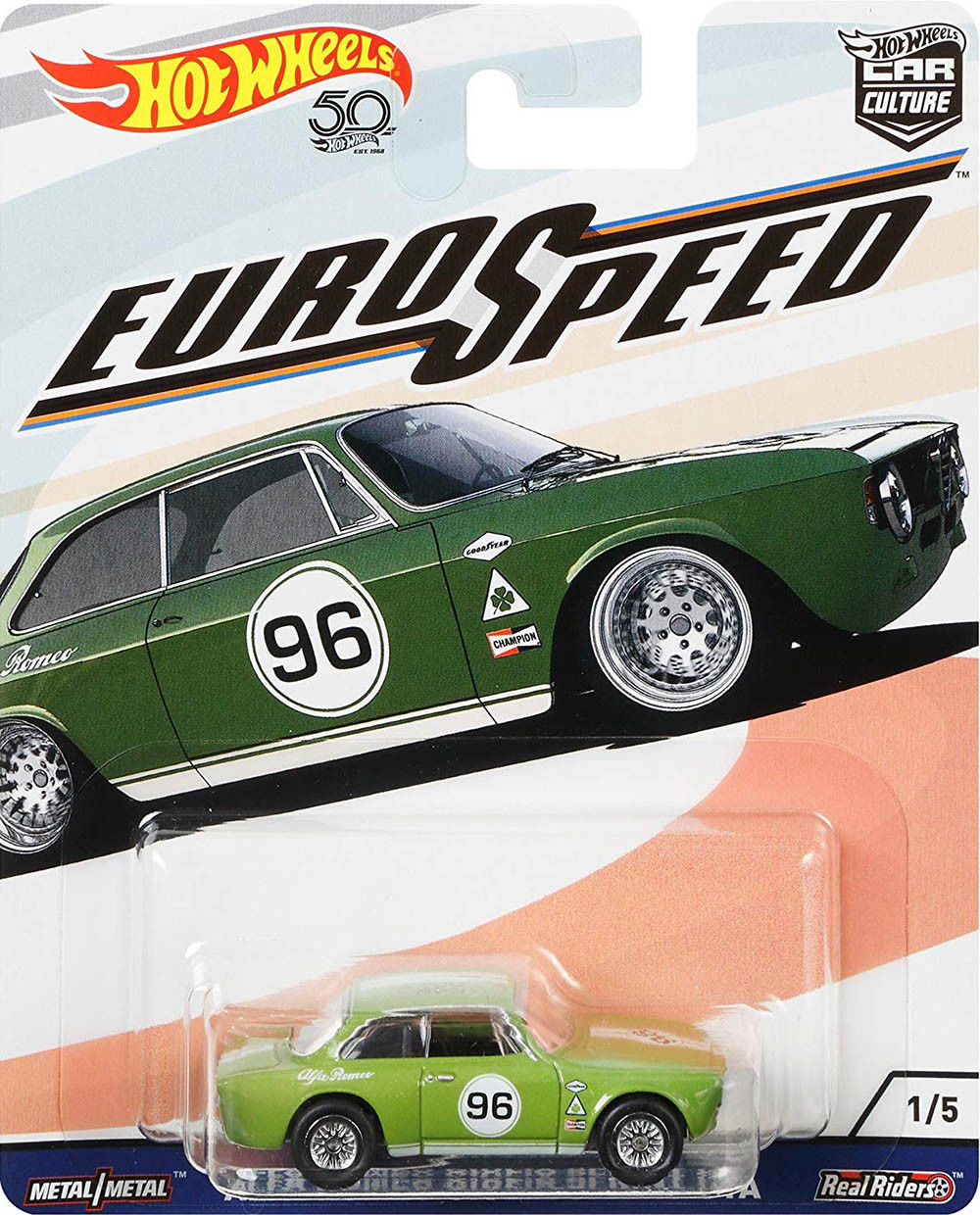 Hot Wheels - Alfa Romeo Giulia Sprint GTA - Euro Speed - Car Culture
