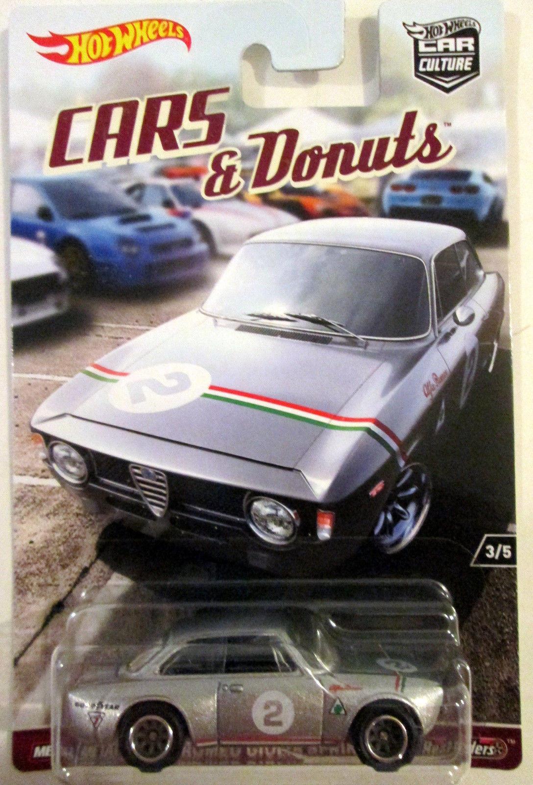 Hot Wheels - Alfa Romeo Giulia Sprint GTA Prata - Cars & Donuts - Car Culture