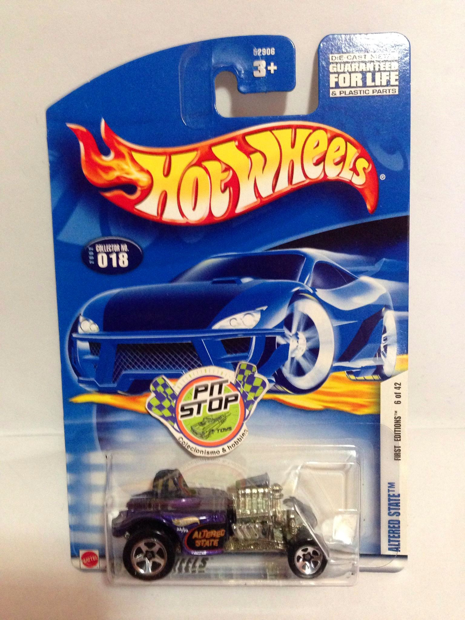 Hot Wheels - Altered State Roxo - Mainline 2002