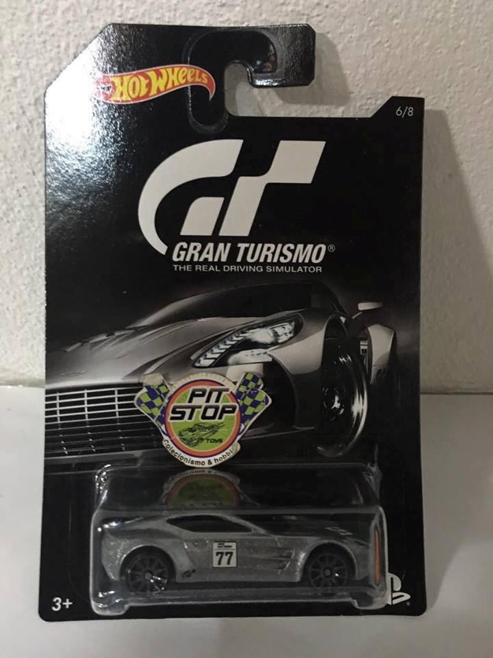 Hot Wheels - Aston Martin One-77 Prata - Gran Turismo
