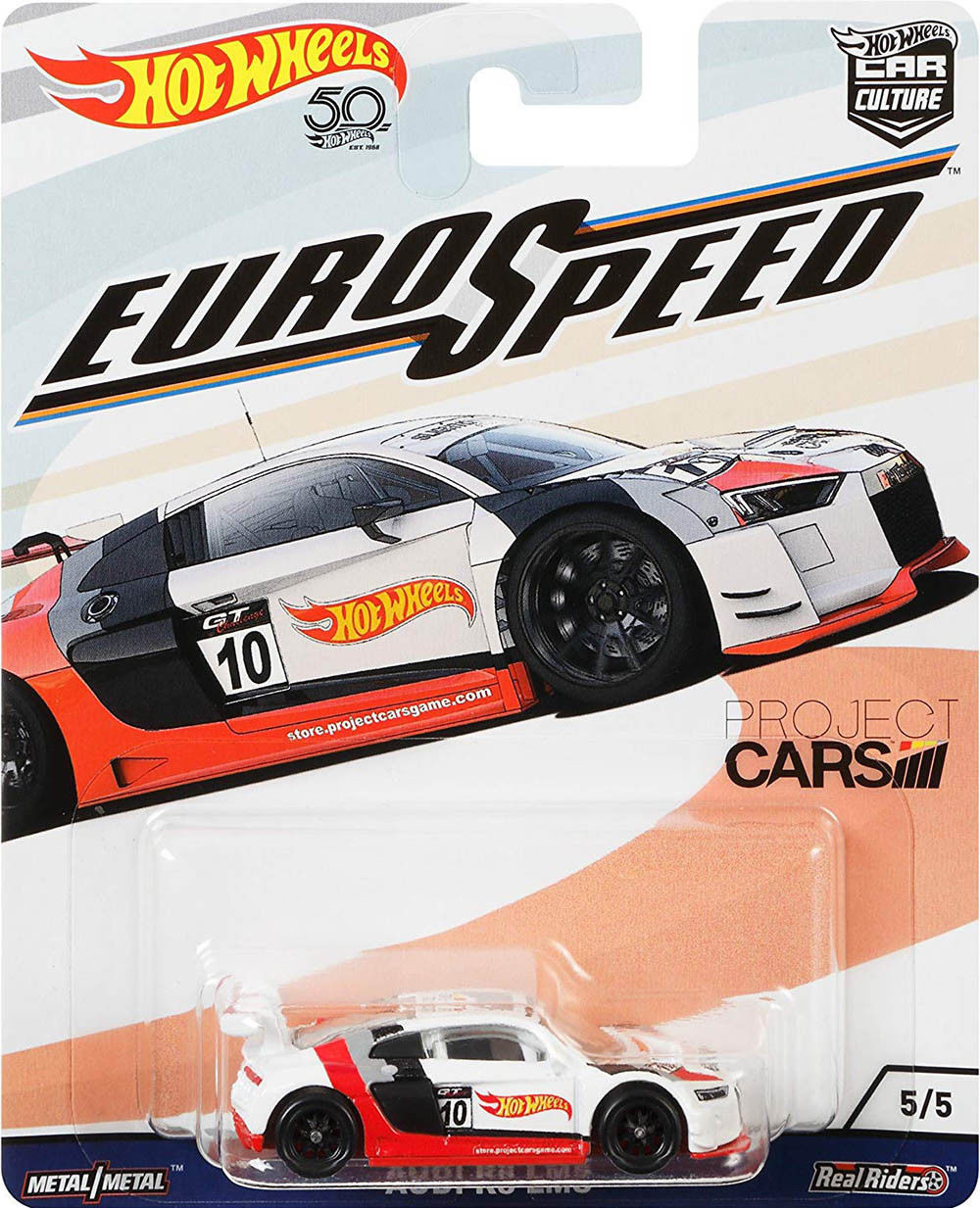 Hot Wheels Audi R8 Lms Euro Speed Car Culture