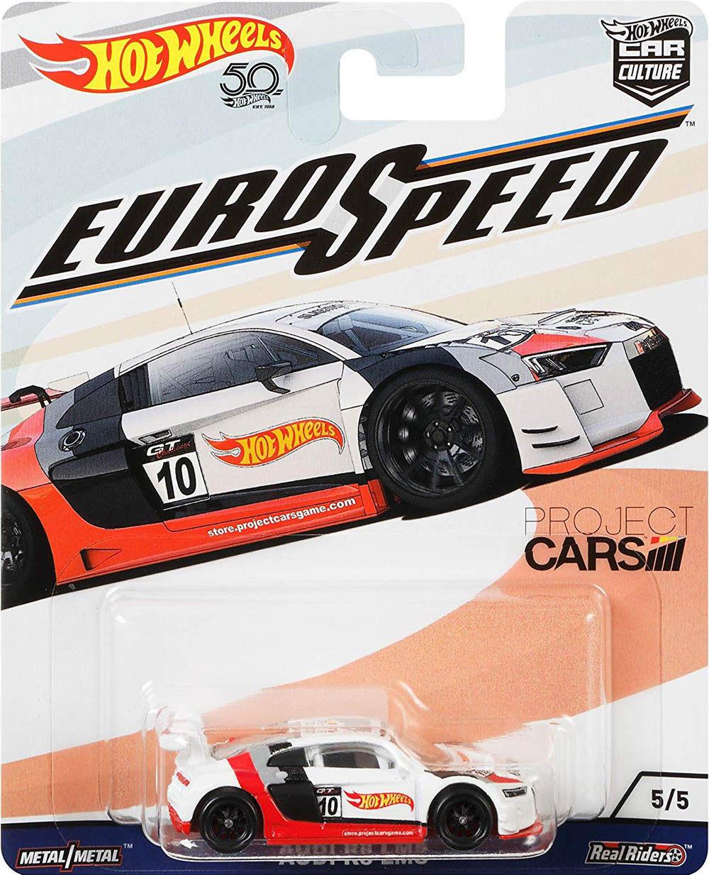 Hot Wheels - Audi R8 LMS - Euro Speed - Car Culture