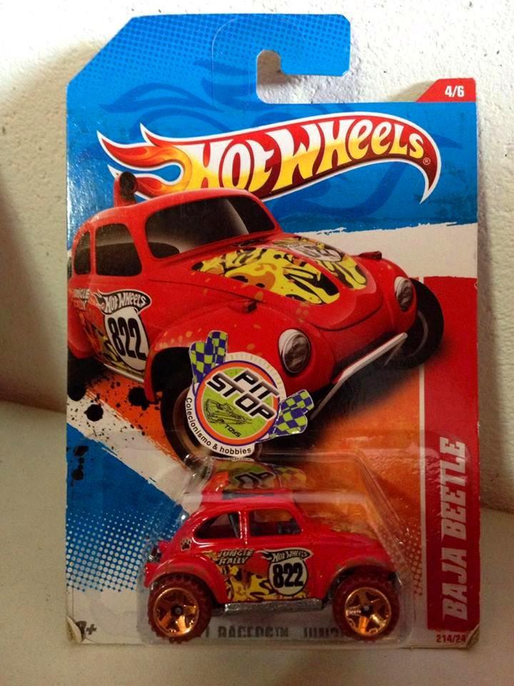 Hot Wheels - Baja Beetle Vermelho - Mainline 2011