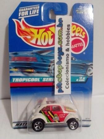 Hot Wheels - Baja Bug Branco - Mainline 1998
