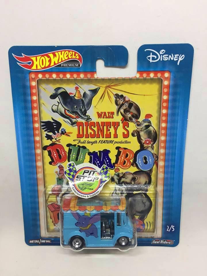 Hot Wheels - Bread Box Azul - Disney Dumbo