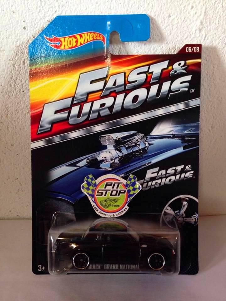 Hot Wheels - Buick Grand National Preto - Fast & Furious