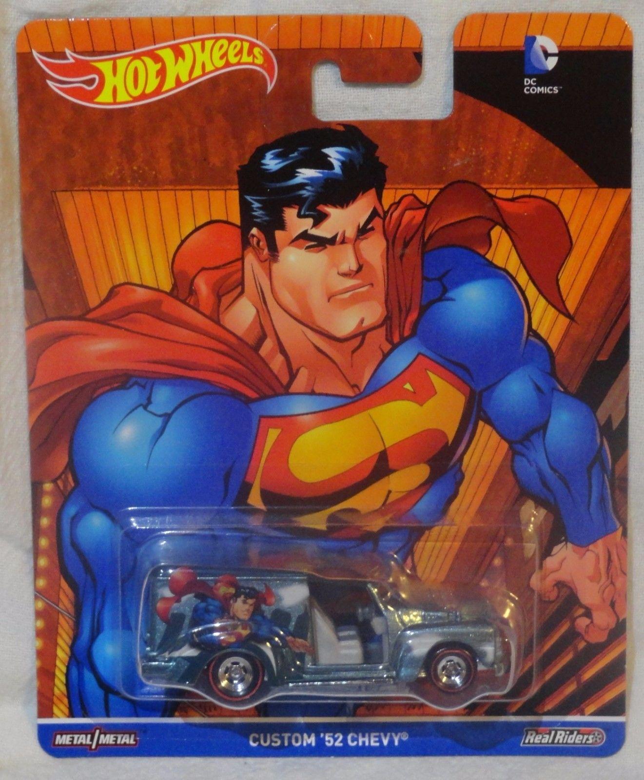 Hot Wheels - Custom 52 Chevy - Superman - DC Comics