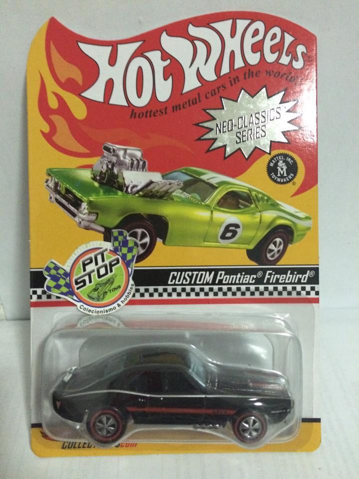 Hot Wheels - Custom Pontiac Firebird - Neo-Classics Séries