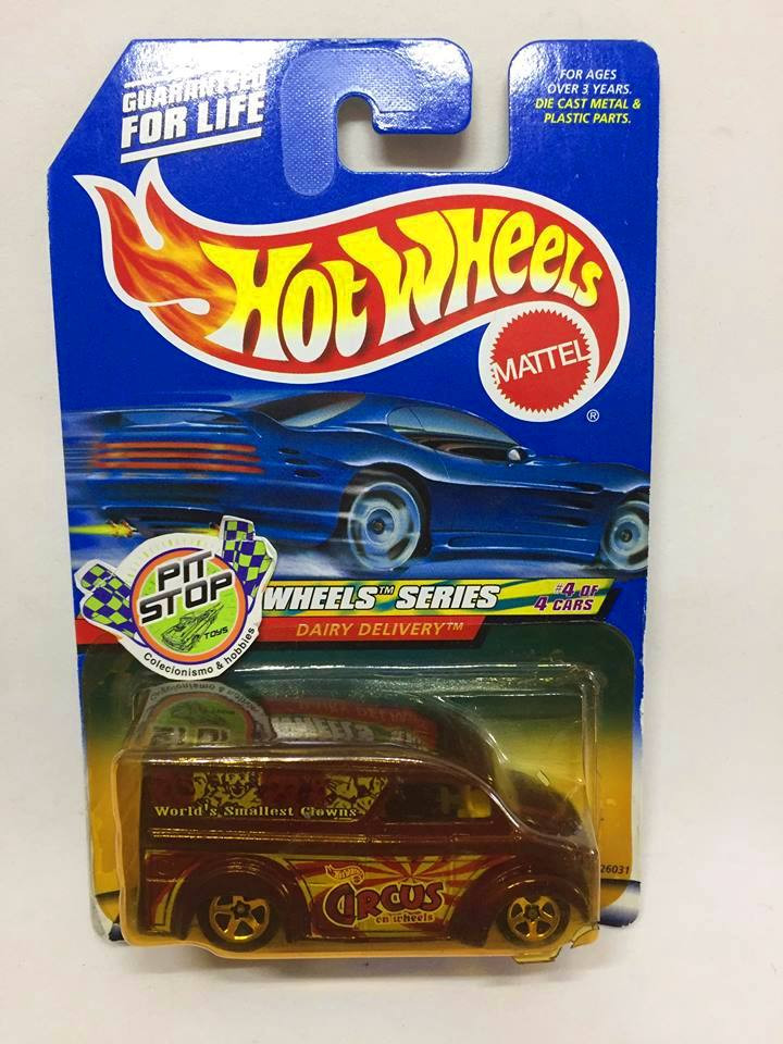 Hot Wheels - Dairy Delivery Roxo - Mainline 2000
