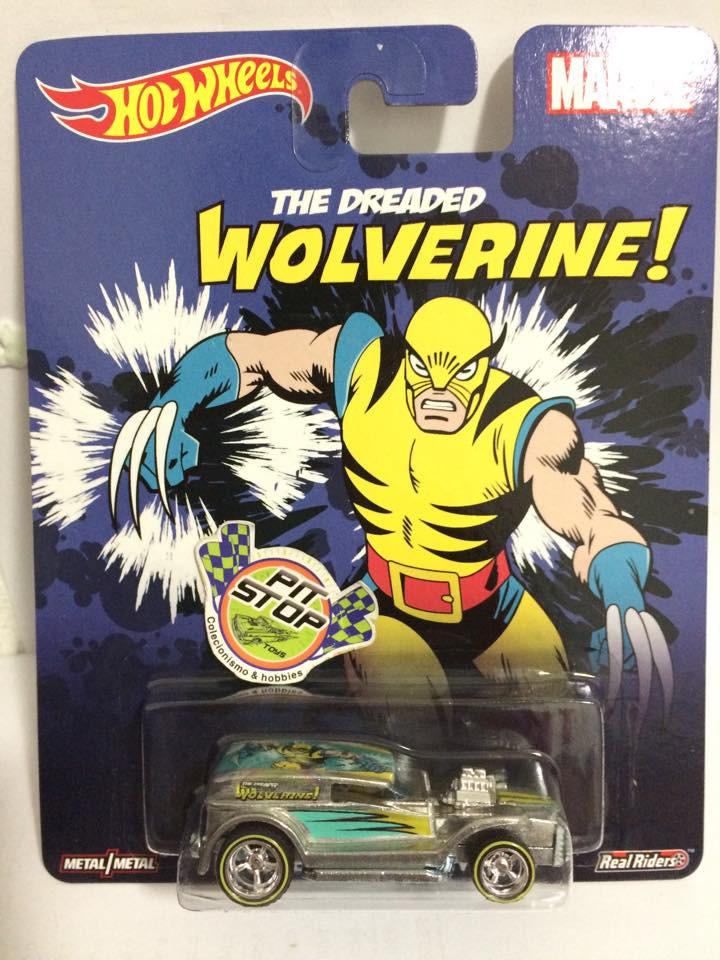 Hot Wheels - Double Demon Delivery - Pop Culture - Wolverine