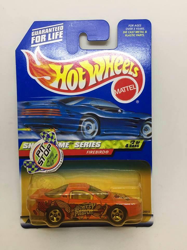 Hot Wheels - Firebird Laranja - Mainline 2000