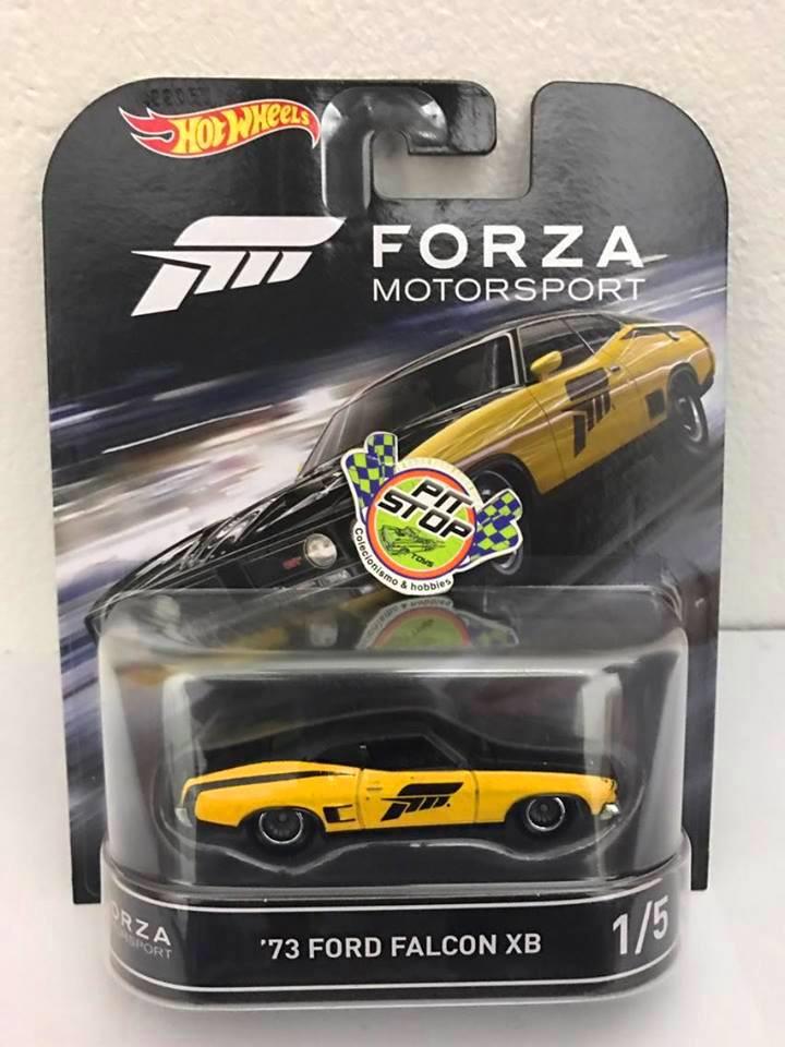 Hot Wheels - Ford Falcon Amarelo - Forza Motorsport - Retro