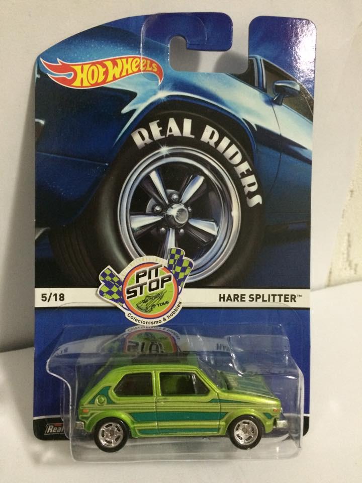 Hot Wheels - Hare Splitter - Heritage - Real Riders