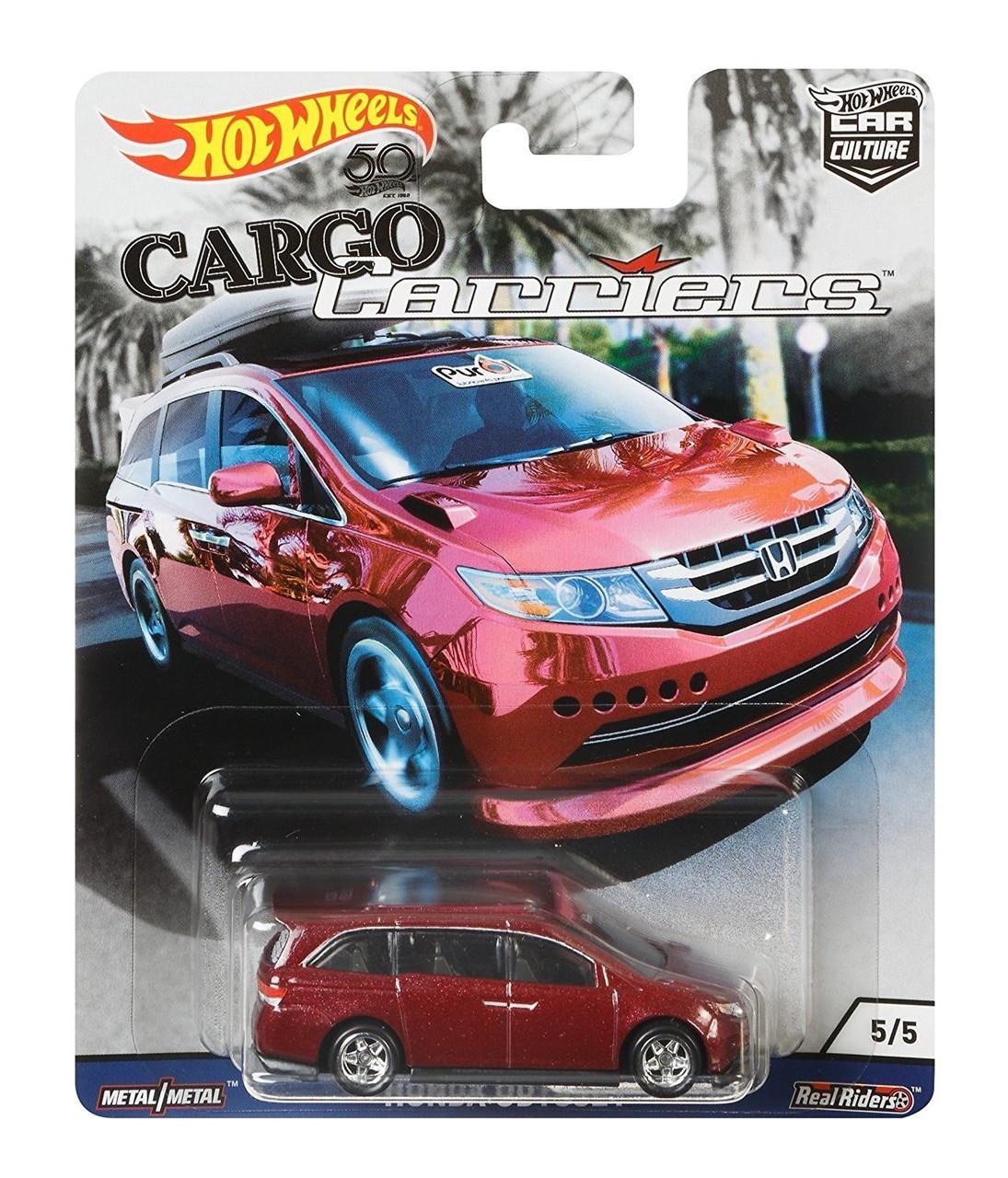 Hot Wheels - Honda Odyssey - Cargo Carriers - Car Culture
