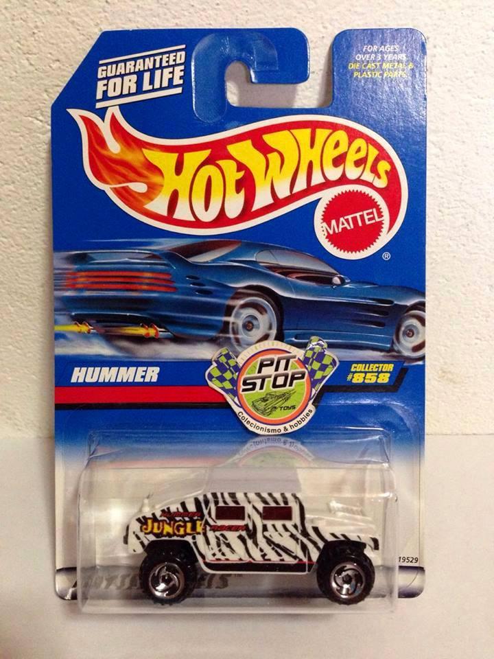 Hot Wheels - Hummer Branco - Mainline 1998
