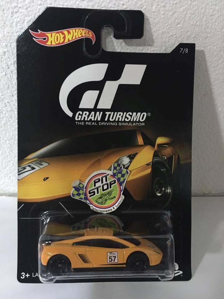 Hot Wheels - Lamborghini Gallardo LP 570-4 Superleggera Amarelo - Gran Turismo