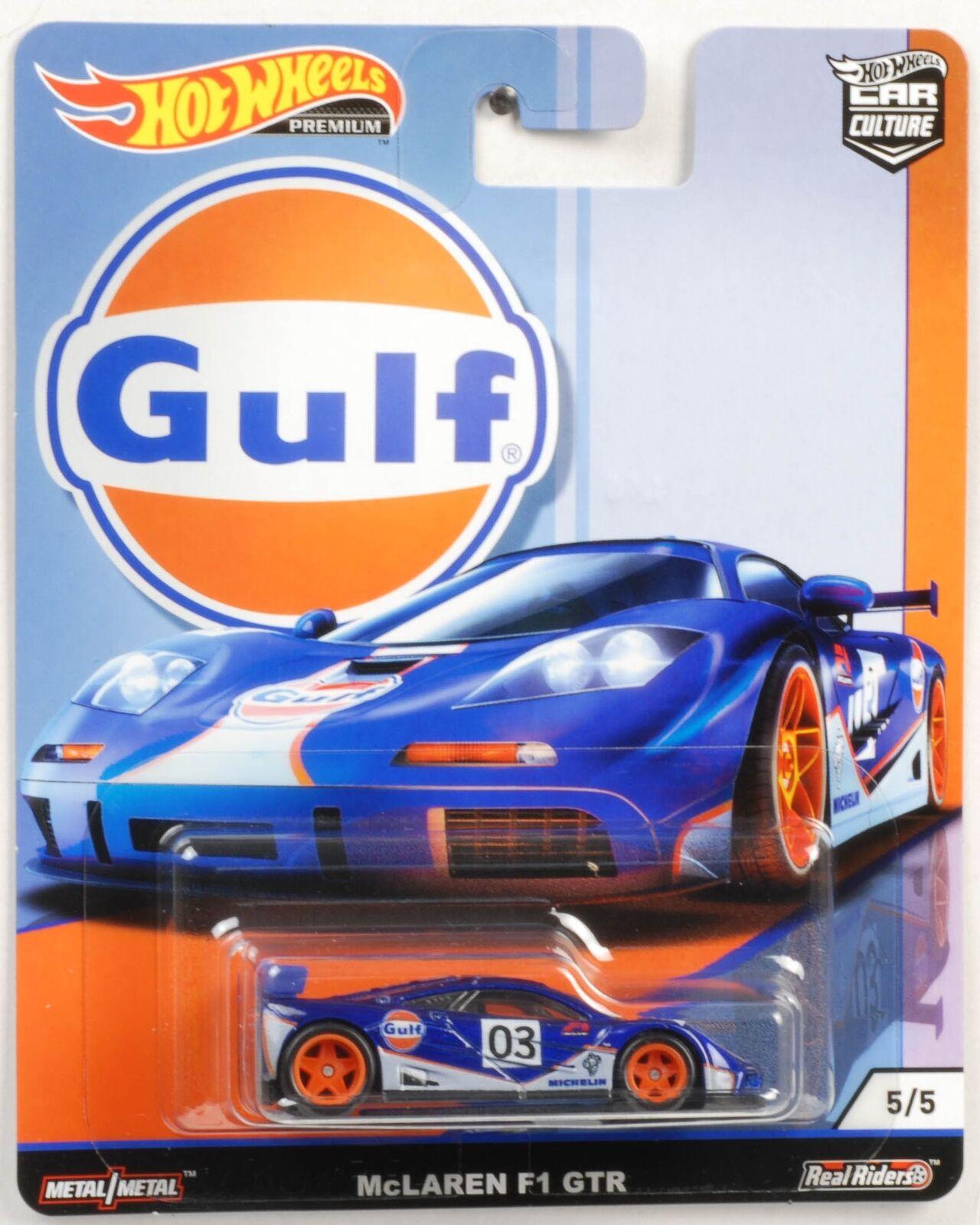 Hot Wheels - McLaren F1 GTR Azul - Gulf