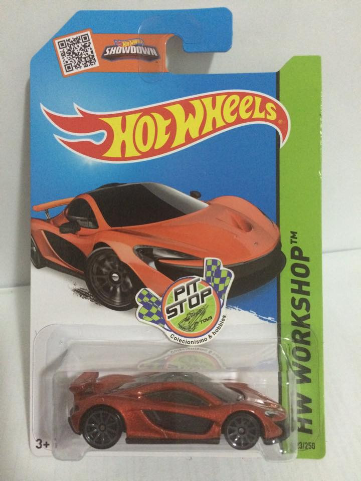 Hot Wheels - McLaren P1 Laranja - Mainline 2014