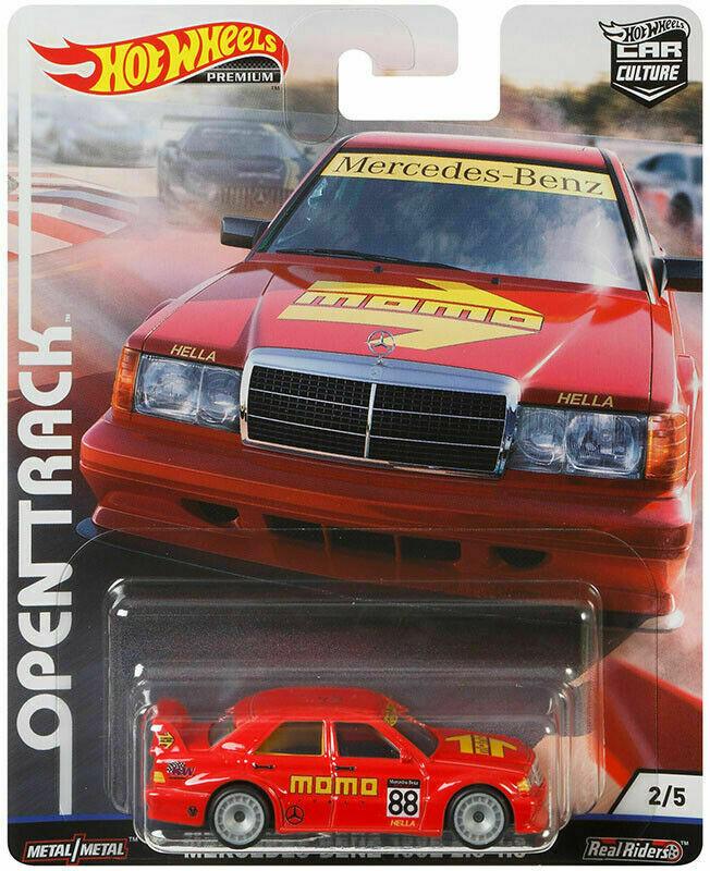 Hot Wheels - Mercedes-Benz 190E 2.5-1.6 - Open Track