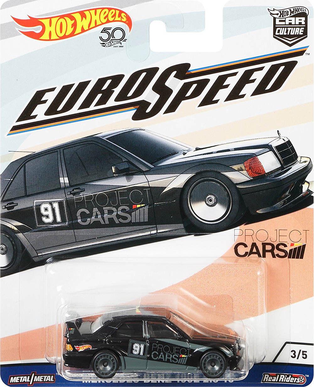 Hot Wheels - Mercedes-Benz 190E 2.5-16 - Euro Speed - Car Culture