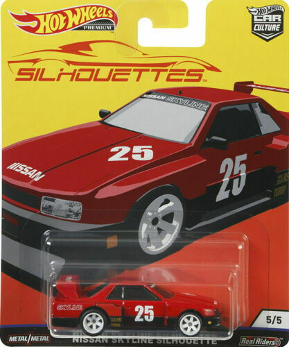Hot Wheels - Nissan Skyline Silhouette - Silhouettes - Car Culture