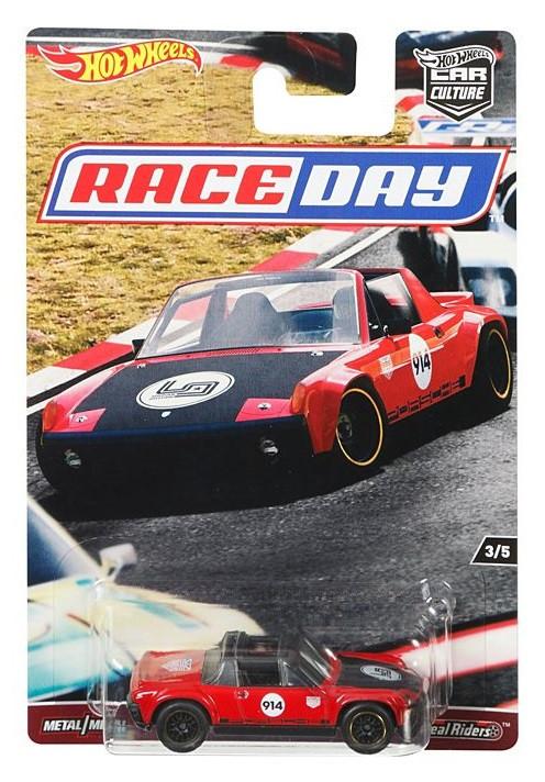 Hot Wheels - Porsche 914-6 - Race Day - Car Culture