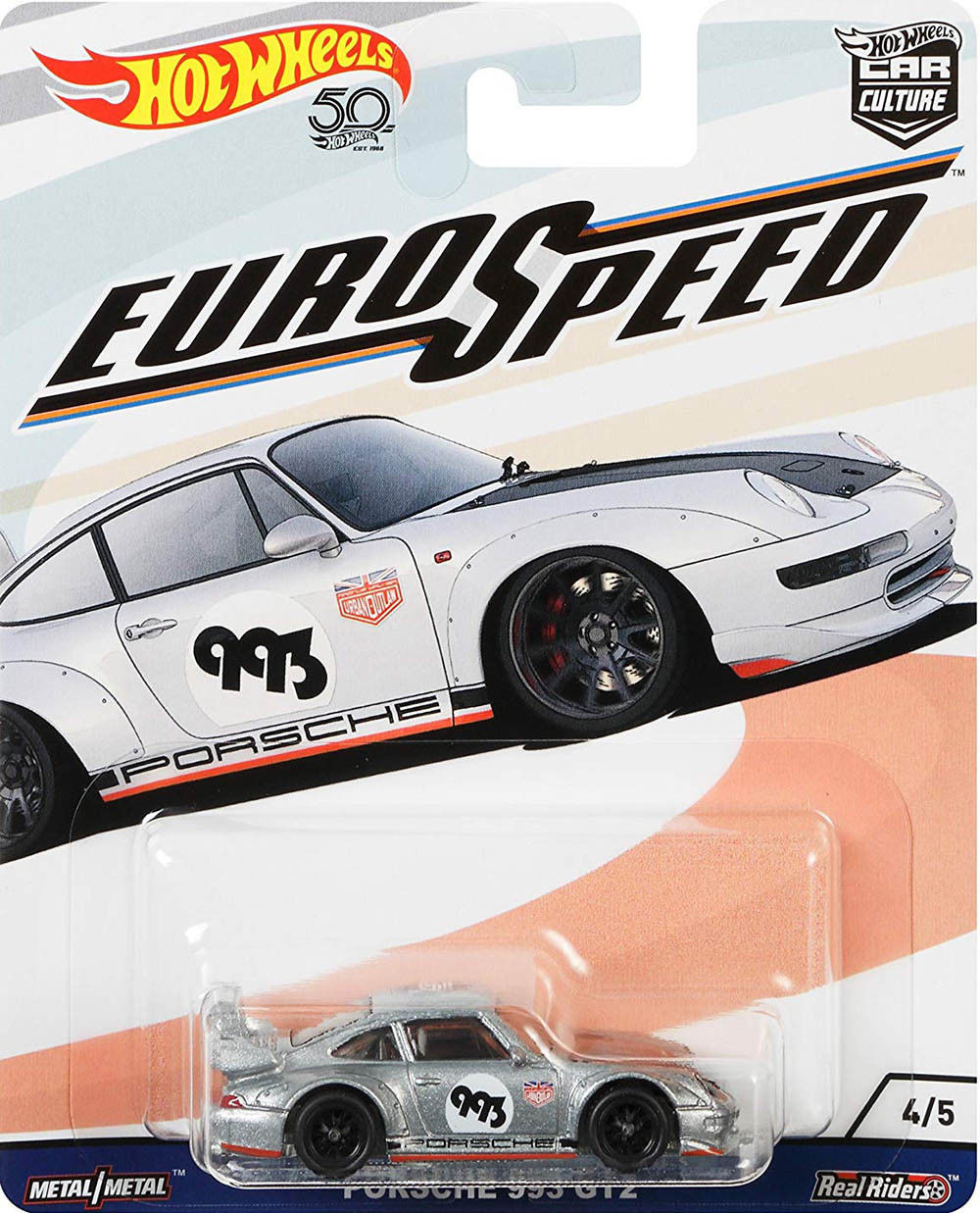 Hot Wheels - Porsche 993 GT2 - Euro Speed - Car Culture