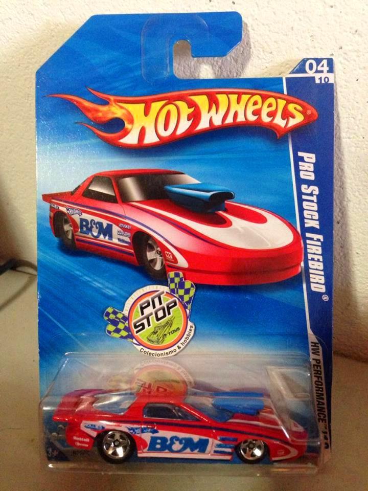 Hot Wheels - Pro Stock Firebird Vermelho - Mainline 2010